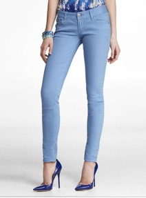 A whole different kind of blue jean, Express, $79.90