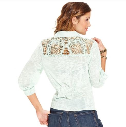 American Rag blouse, Macy's, $29.99