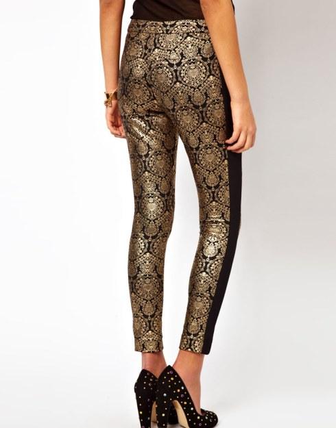 Brocade pants, ASOS, $56.29
