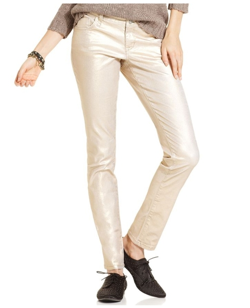 Gold jeans by American Rag, Macy's, $69.99