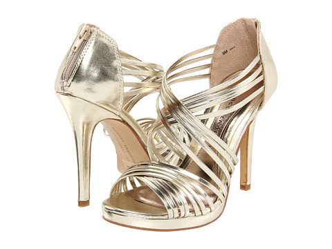 Chinese Laundry heels in gilded gold from www.zappos.com
