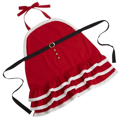 Mrs. Claus Apron, Pier 1, $12.38 on sale right now!
