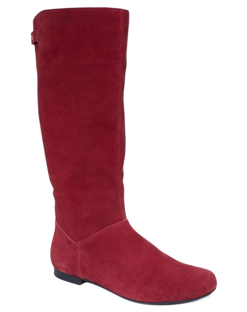 Cute flat red boots, Macy's, Style and Co., $45.99