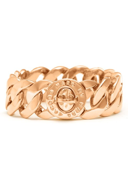 MARC by Marc Jacobs Turnlock Katie Bracelet, $128, Available in Many finishes