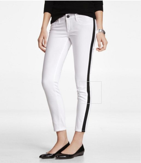 Express Tuxedo Jeans, on sale right now for $47.94